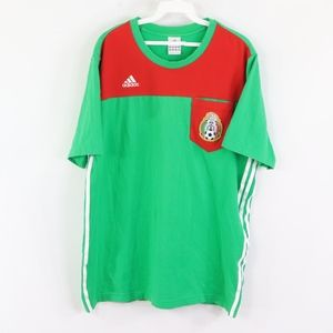 Adidas Mens XL Mexico World Cup Soccer T Shirt